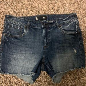 Kut from the kloth gidget shorts size 10